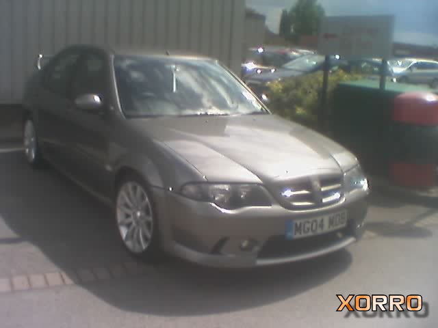 My Mk2 X-Power Grey MG ZS 180