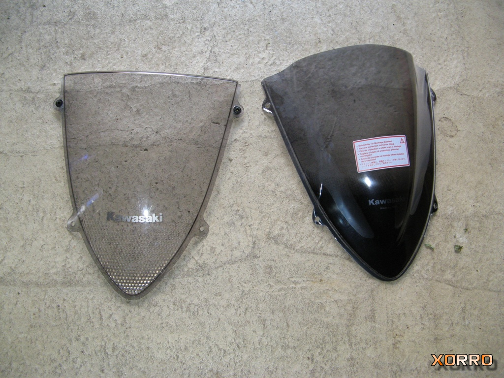 Kawasaki Ninja 250R MRA double bubble screen