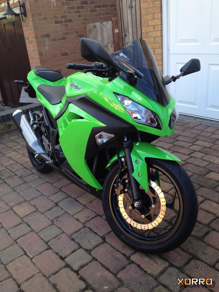 Xorros Kawasaki Ninja 300 Green